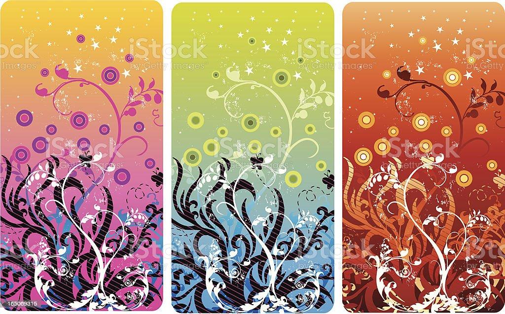Floral organic design royalty-free stock vector art