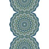 Floral oriental pattern