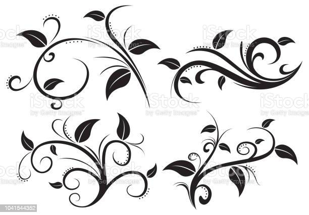 Floral ornament element collection vector id1041544352?b=1&k=6&m=1041544352&s=612x612&h=5m3nin9shrpzq7dargb8rqp6ks83z2yv3w3p6cy7ipo=