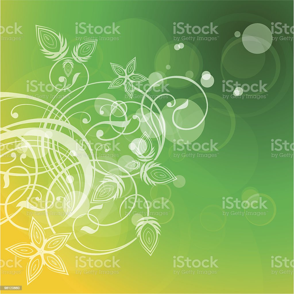 floral ornament & lens flare royalty-free floral ornament lens flare stock vector art & more images of art