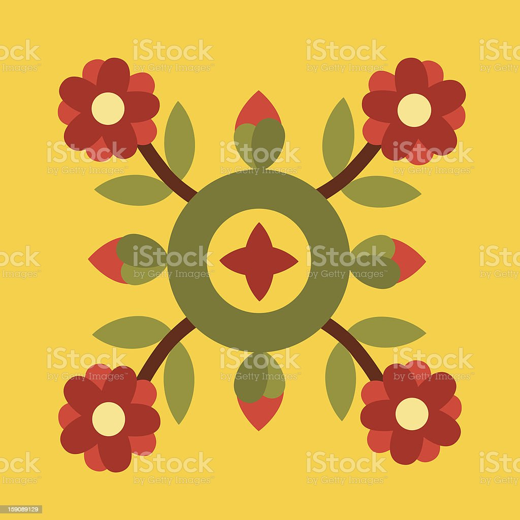 floral ornament royalty-free floral ornament stock vector art & more images of art