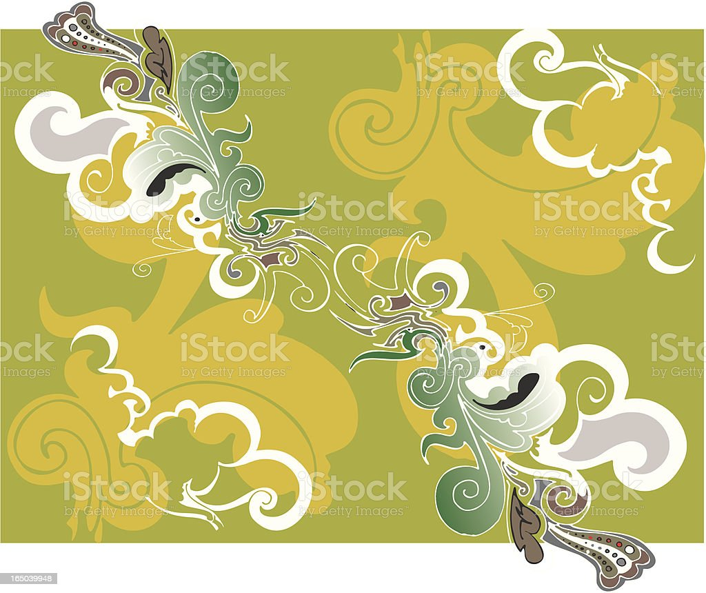 floral paisley background royalty-free floral paisley background stock vector art & more images of beauty