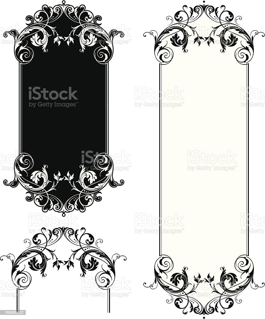 Floral Panel royalty-free floral panel stock vector art & more images of art deco
