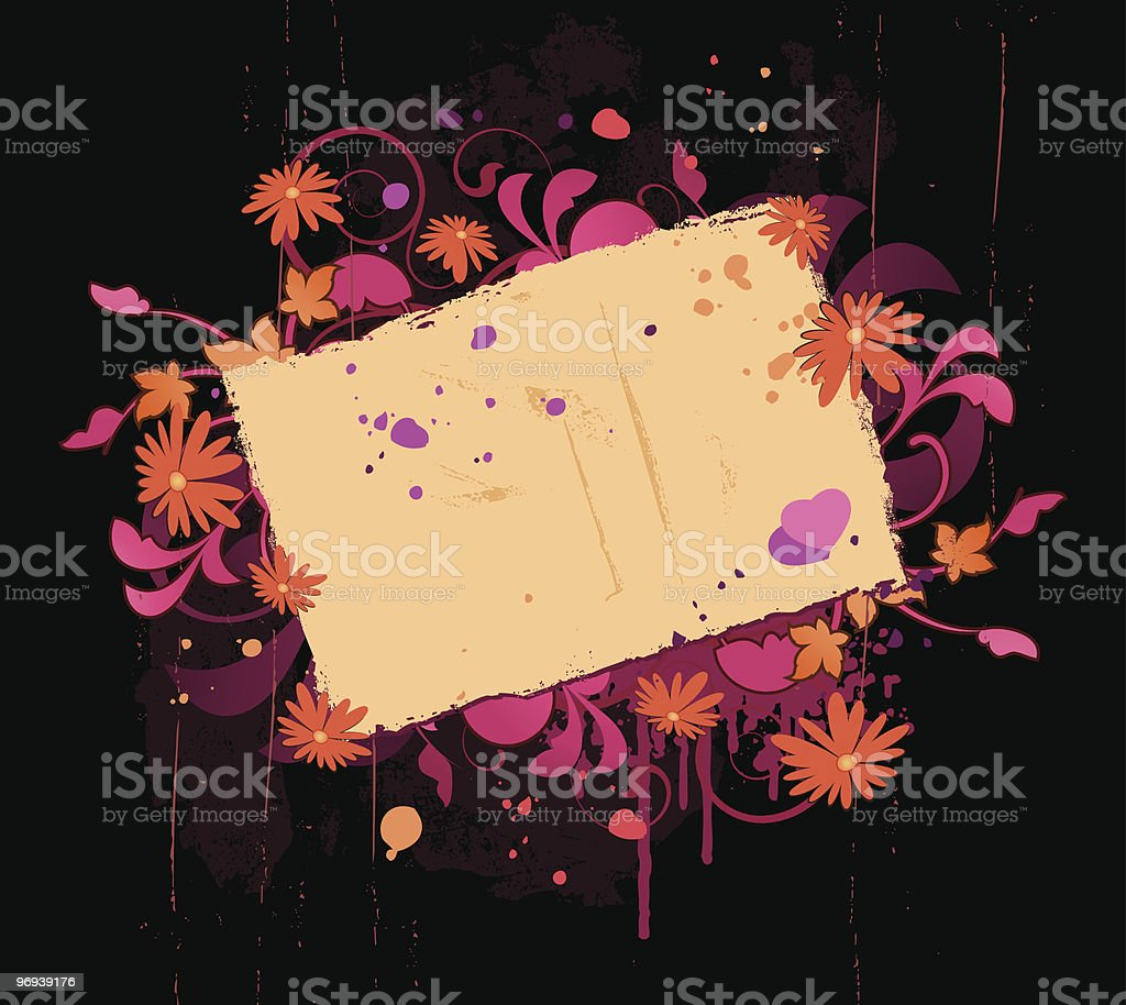 Floral panel royalty-free floral panel stock vector art & more images of abstract