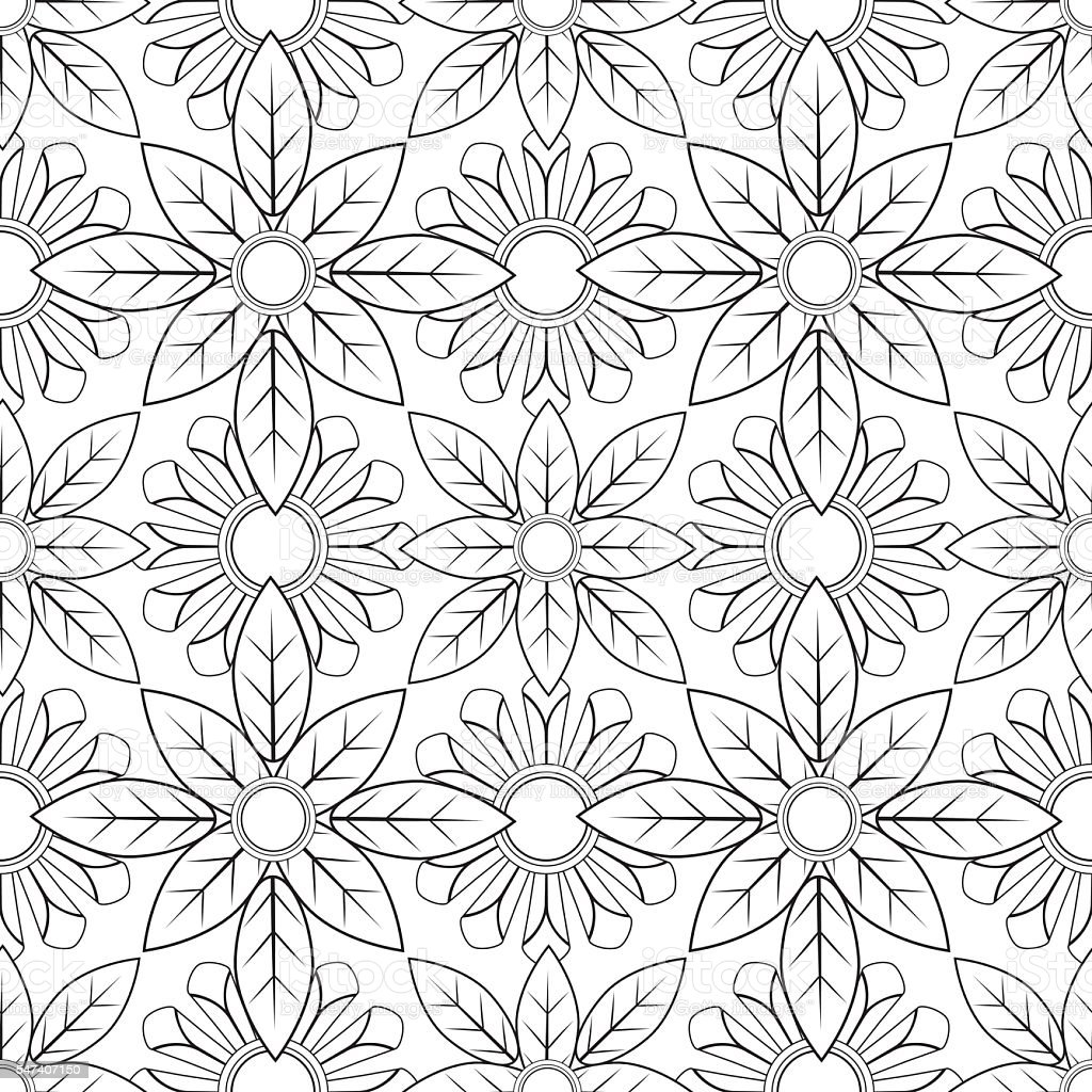 Pattern Coloring Pages For Adults - Coloring Home | 1024x1024