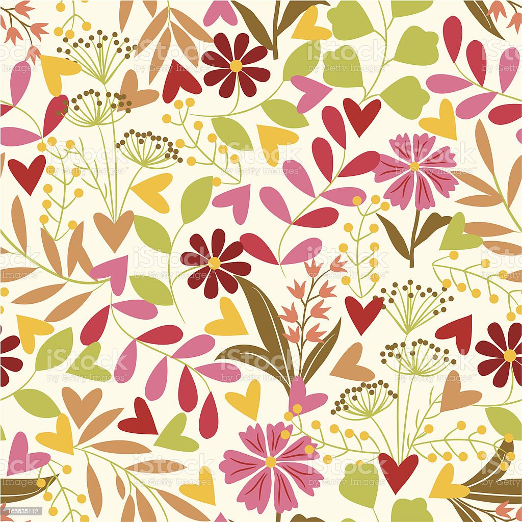 Floral pattern - exclusive to istockphoto. royalty-free stock vector art