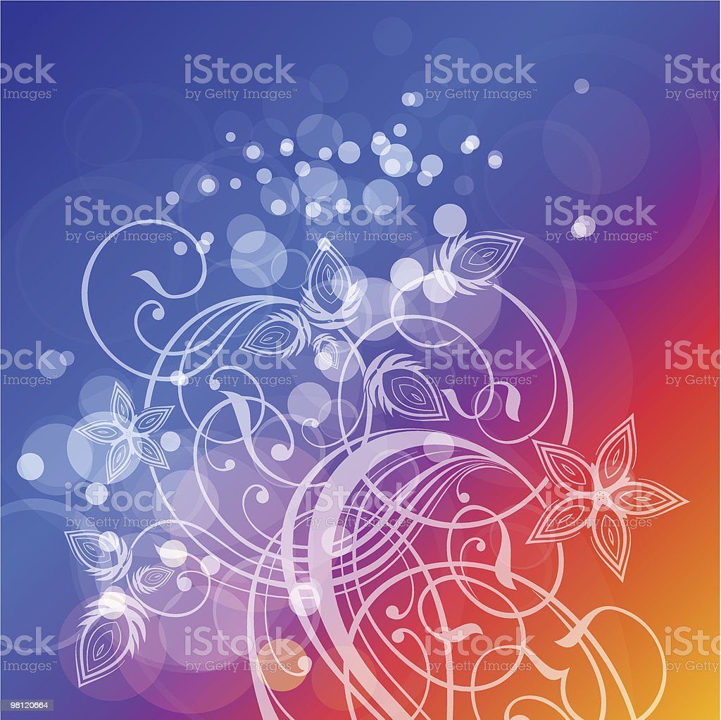 floral pattern & lens flare royalty-free floral pattern lens flare stock vector art & more images of abstract