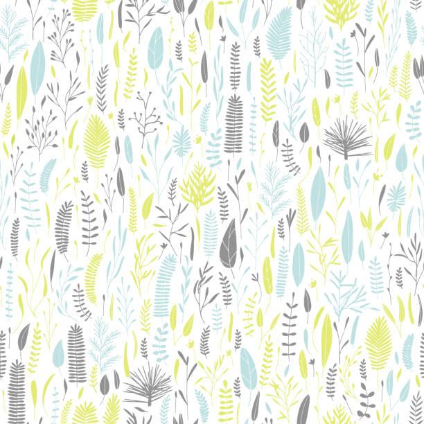 Blumenmuster. – Vektorgrafik