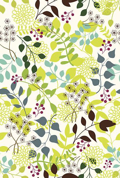 花柄。 - ボタニカル点のイラスト素材/クリップアート素材/マンガ素材/アイコン素材