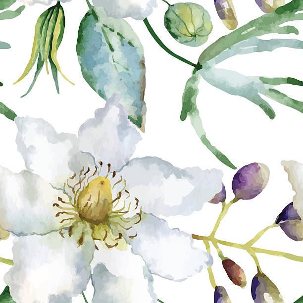 illustrazioni stock, clip art, cartoni animati e icone di tendenza di motivo floreale - mika