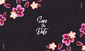 istock floral save the date background 1282291731