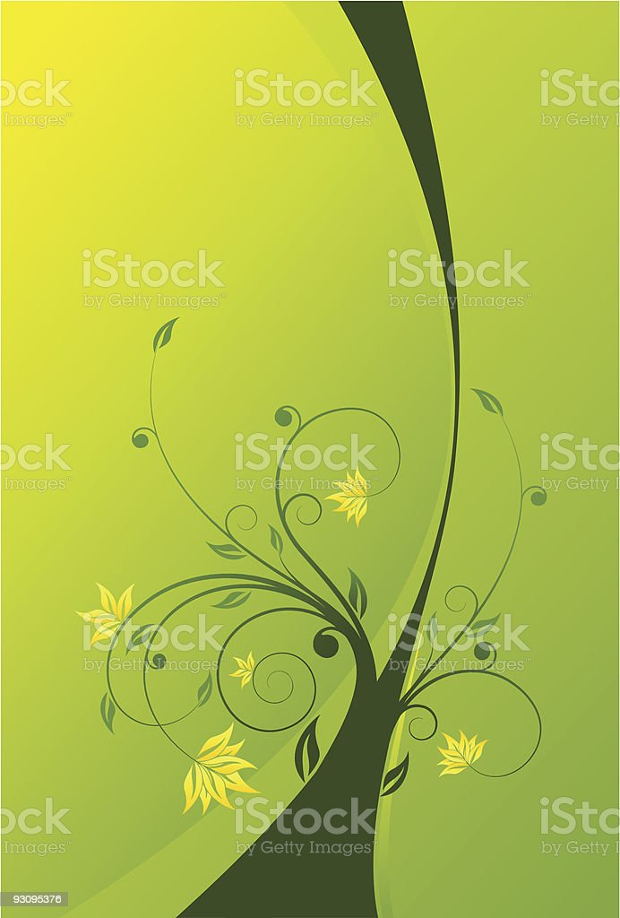 Floral scroll background royalty-free floral scroll background stock vector art & more images of abstract