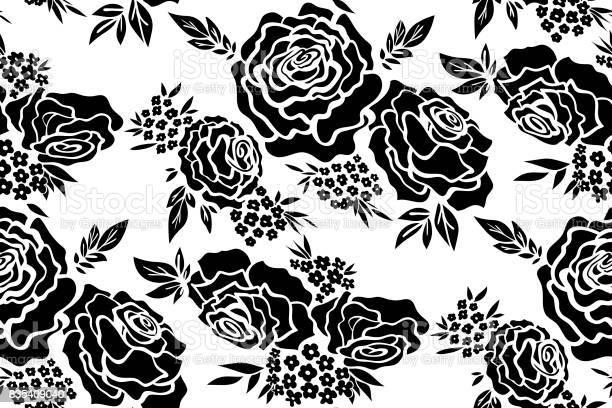 Floral seamless background pattern with roses spring summer season vector id835409040?b=1&k=6&m=835409040&s=612x612&h=uses0tkp9nlli4fbunib1qcyh1tk1sx9w5nrcd2ro q=