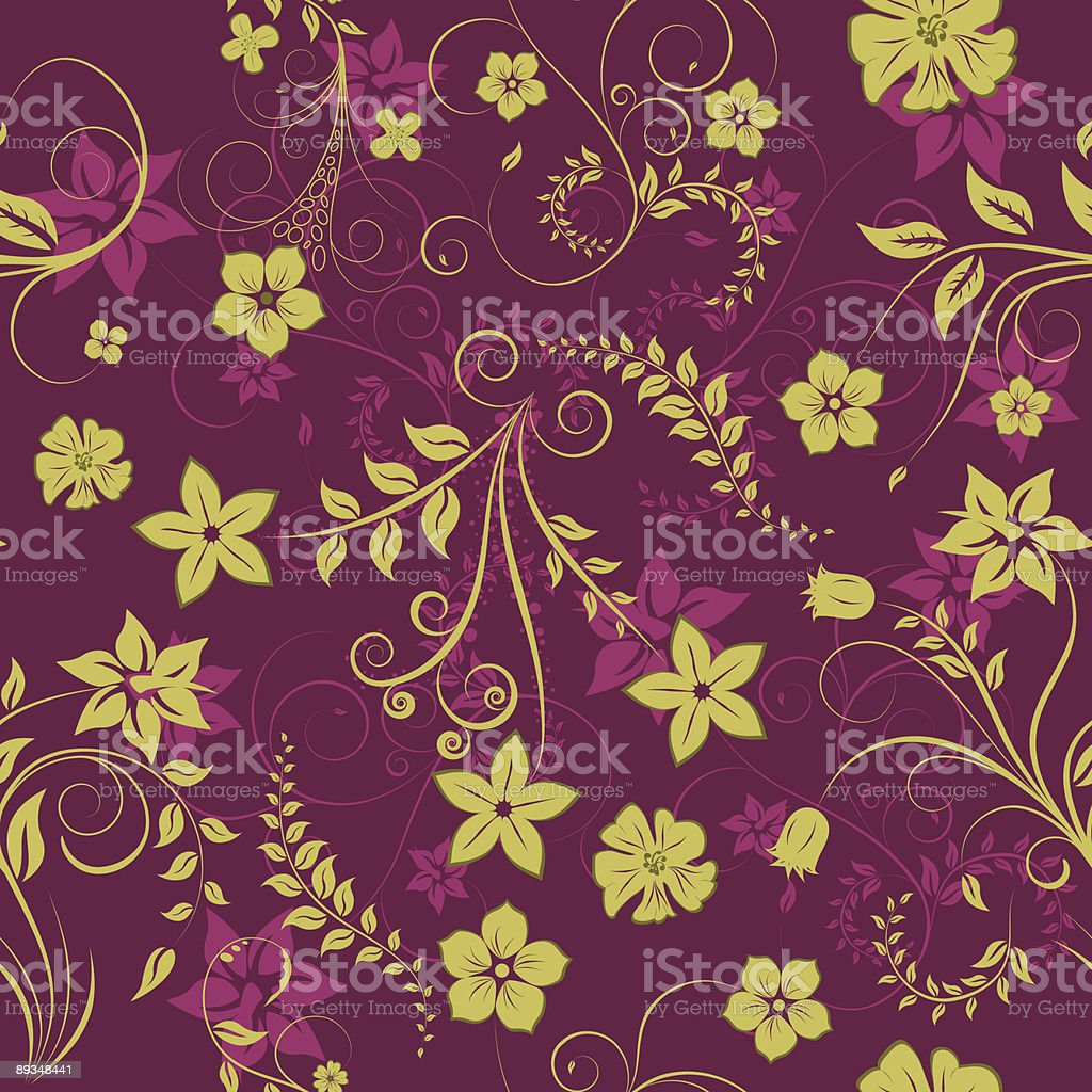 floral seamless background royalty-free floral seamless background stock vector art & more images of abstract