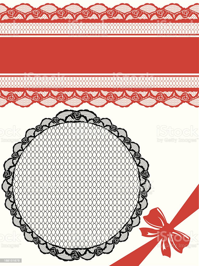 Floral seamless lace pattern with flowers. royalty-free stock vector art