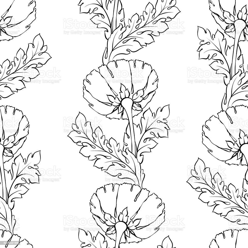 Floral Motif Uniforme Fond De Fleurs Floraison De Carreaux