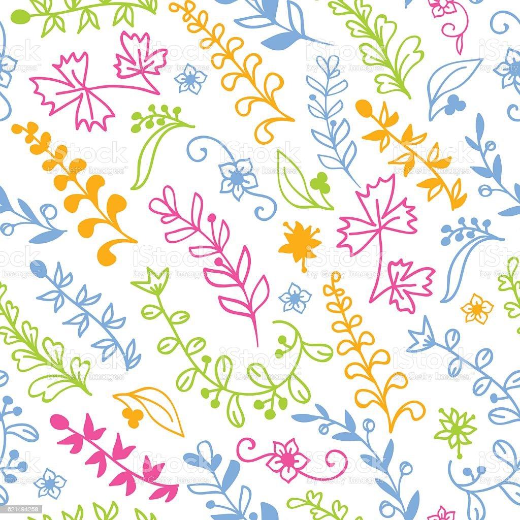 Floral seamless pattern for invitation card Lizenzfreies floral seamless pattern for invitation card stock vektor art und mehr bilder von abstrakt