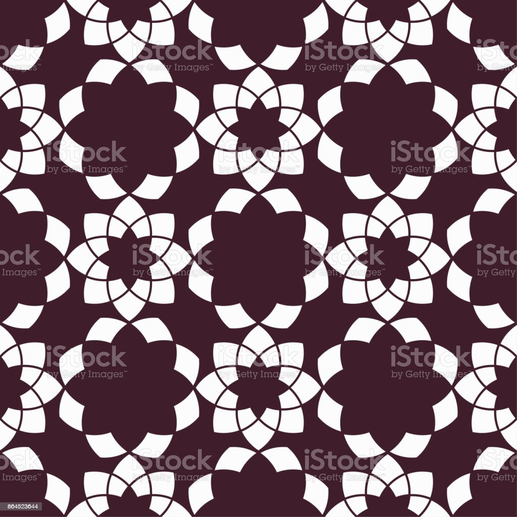 Floral Seamless Pattern Maroon Wallpaper Background Stock