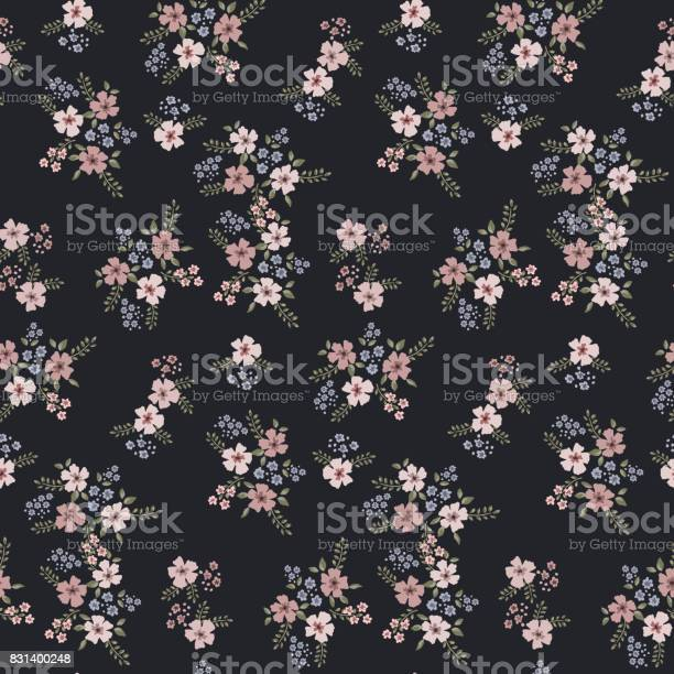 Floral seamless pattern of small flowers in pastel colors on a dark vector id831400248?b=1&k=6&m=831400248&s=612x612&h=meem8ng5uubovxmj9dahsuq1pmhxpdvp kedcqb9mge=