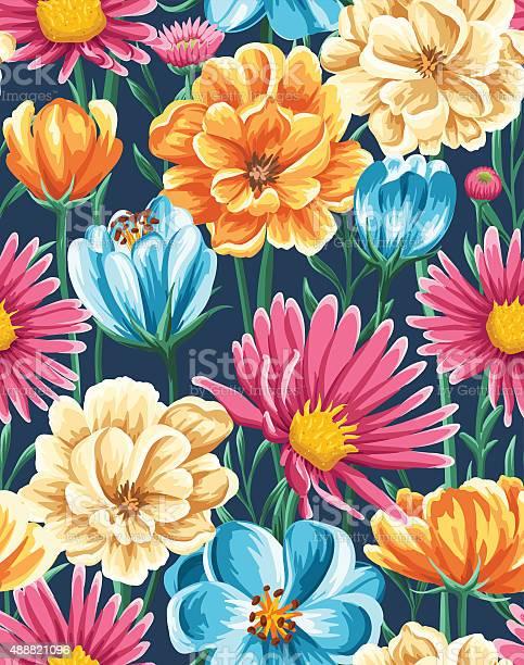 Floral seamless pattern vector id488821096?b=1&k=6&m=488821096&s=612x612&h=qf67xi2r5w7ta 60riw vxnncnnznfg4agrtvhiciza=