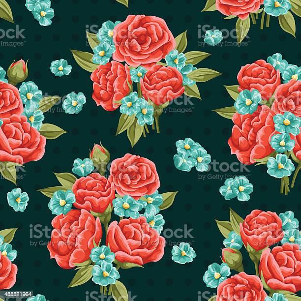 Floral seamless pattern vector id488821964?b=1&k=6&m=488821964&s=612x612&h=t4opohkivs8g zswyqeu8i1kyehpd3dswpz 0xn3hys=