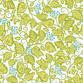 Vector floral seamless pattern .