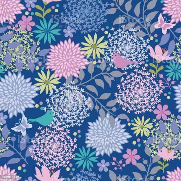 Floral seamless pattern vector id698815148?b=1&k=6&m=698815148&s=612x612&h=gqkbnkmqiun jx9afuqd97edi4geovtcioopxwu3b7k=