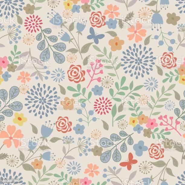 Floral seamless pattern vector id840561940?b=1&k=6&m=840561940&s=612x612&h=sxac3ydz98lvaj8zirwflzsm068gcevimh8bnpvezaa=