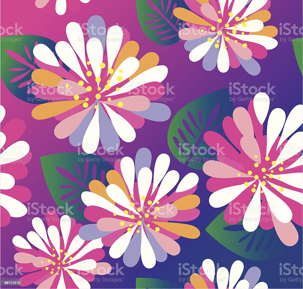 Floral seamless pattern royalty-free floral seamless pattern stock vector art & more images of art