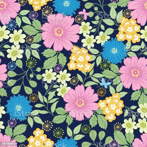 Floral seamless pattern vector id987568934?b=1&k=6&m=987568934&s=612x612&h=7zdtxojatu2br5pxxpdsreqko 8mrlou3ehjophx1u4=