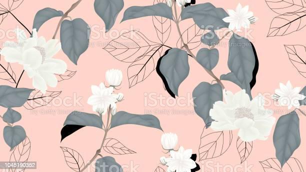 Floral seamless pattern white jasmine flowers paenia lactiflora with vector id1045190352?b=1&k=6&m=1045190352&s=612x612&h=4op49x hmfwy danxwavi6ngjig069lcuufjr21hak0=