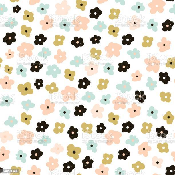Floral seamless pattern with cute flowers flowers surface design vector id840586490?b=1&k=6&m=840586490&s=612x612&h=cavsk8 6ufyhgsbvkbypmga  215pbo81m2m3a26v5o=