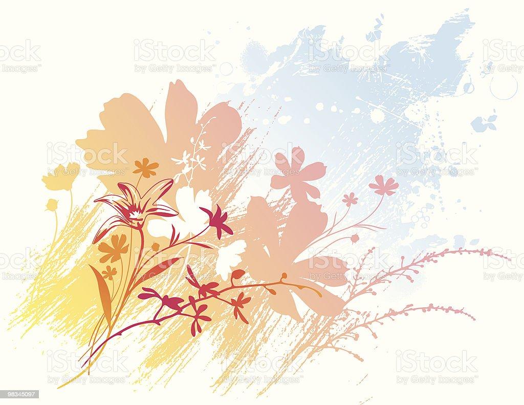 Floral splash royalty-free floral splash stock vector art & more images of backgrounds