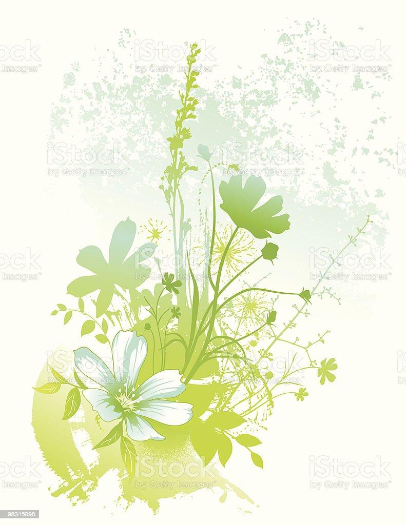 Floral splash royalty-free floral splash stock vector art & more images of back lit