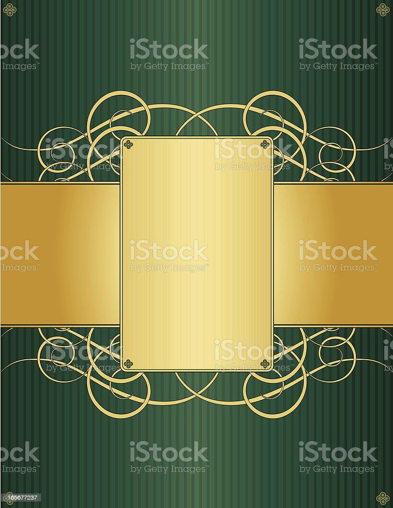 Floral Swirl Background Design