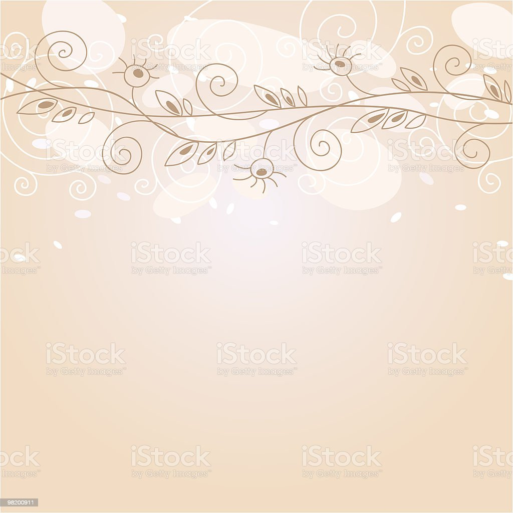 Floral vector background royalty-free floral vector background stock vector art & more images of abstract