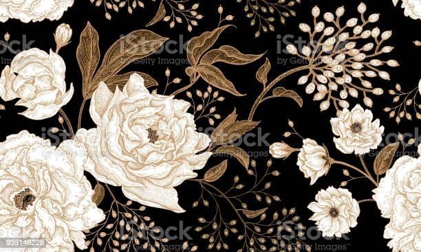 Floral vintage seamless pattern vector id939146228?b=1&k=6&m=939146228&s=612x612&h=elcatgx5akyfznontbdpnl3gpc  nnjgcajoohcw2ko=