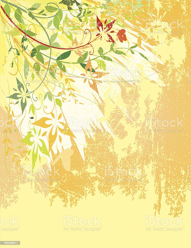 Floral Wall royalty-free floral wall stock vector art & more images of abstract