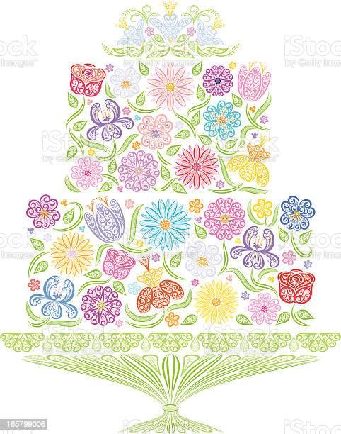 Floral wedding cake vector id165799006?b=1&k=6&m=165799006&s=612x612&h=aoqddt67vaamb3sp5znr nnrx41jq0pm tkjmryntgm=