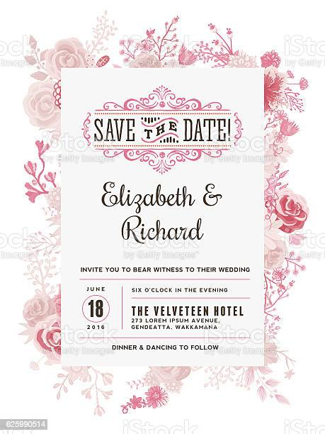 Vector Wedding Invitation Cards Download Free Templates At