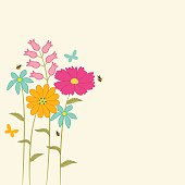 istock Floral_background . 1217837441