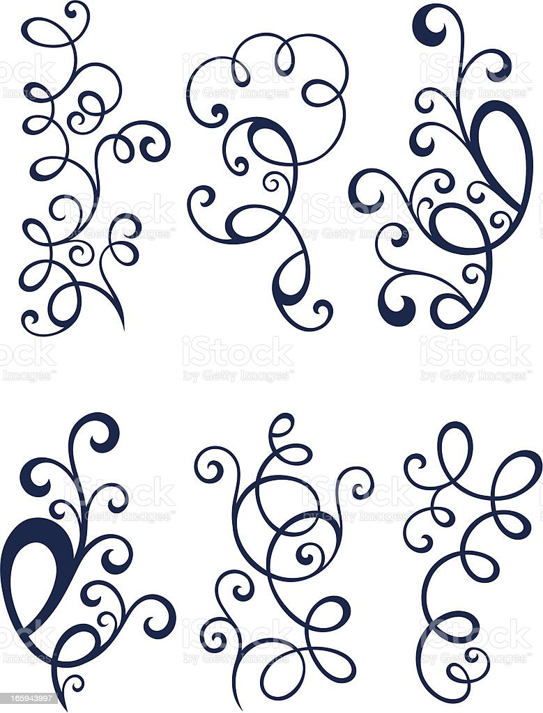 Florals royalty-free stock vector art