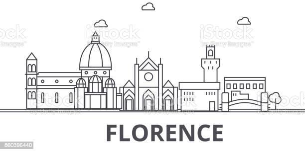 Florence architecture line skyline illustration linear vector with vector id860396440?b=1&k=6&m=860396440&s=612x612&h=byoz1ab6arwusqpabd5q8xfqjwslyok6fp68jqrh jc=