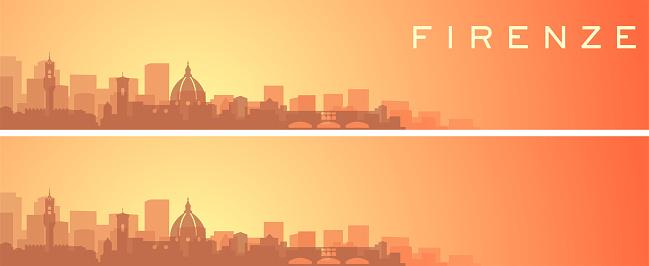 Florence Beautiful Skyline Scenery Banner
