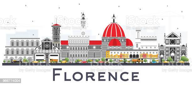 Florence italy city skyline with color buildings isolated on white vector id966774004?b=1&k=6&m=966774004&s=612x612&h=ahhtql7gerhgt3ragu7jnzafkguudxfiaa8393285di=