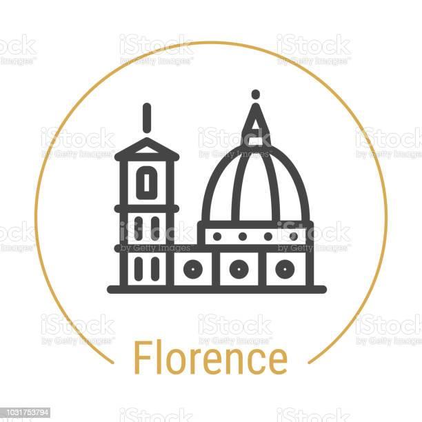 Florence italy vector line icon vector id1031753794?b=1&k=6&m=1031753794&s=612x612&h=xqm5nwpaia5stvv0 plwmrv ewn79xkfptxxncprbma=