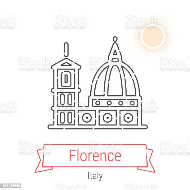Florence italy vector line icon vector id898269656?b=1&k=6&m=898269656&s=612x612&h=3dn9jmc8gnnfcrve8cxvvldpzo twddaxx yscjdczg=