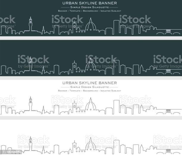 Florence single line skyline banner vector id1148064689?b=1&k=6&m=1148064689&s=612x612&h=15n4d 77b zkw3jjozn1m0p5oswgujbpauzhqcezxru=
