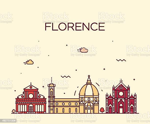 Florence skyline silhouette vector linear style vector id492751006?b=1&k=6&m=492751006&s=612x612&h=ushev2vwi jayi2xgb2t6w20hsy5mxtvusluxevavfo=
