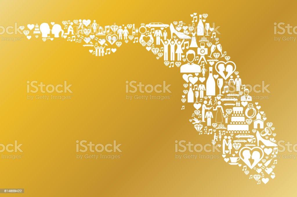 Florida Wedding And Love Vector Graphic Stock Vector Art & More ...